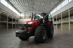 Presentacion del Tractor Massey Ferguson 8000